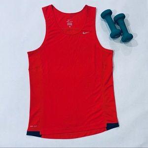 EUC Nike Dri-Fit Small Red Tank